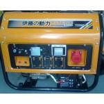7KW汽油发电机组 伊藤动力 单三相电启动汽油发电机